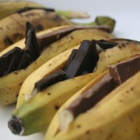 Bananas. Chocolate. BBQ.