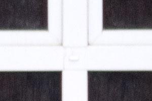 100%-ный кроп центральной части с объективом Lumix на 300 мм