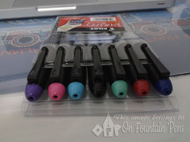 Firstly, they are fountain pens. Secondly, they come in a variety of colours. Who can resist such a set!