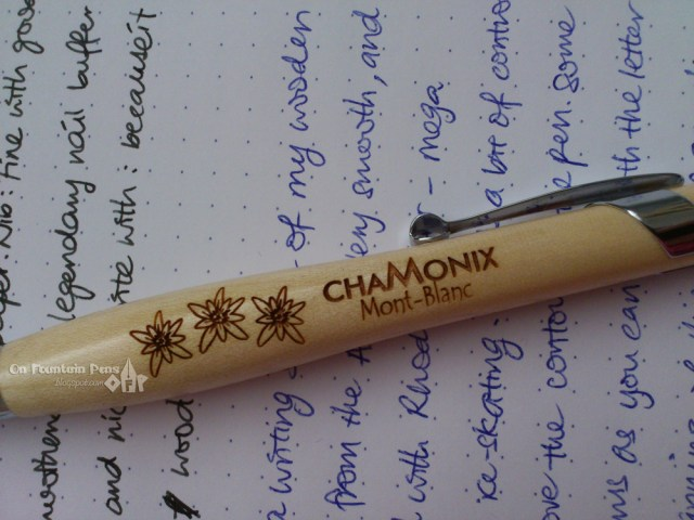 Ms Elegant Chamonix, ball point pen
