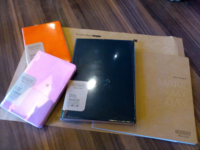 Enclosed are 3 awesome diaries to make my day!