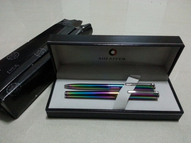 Sheaffer Agio Rainbow series - ball point and roller ball