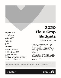 Field Crop Budget_2020