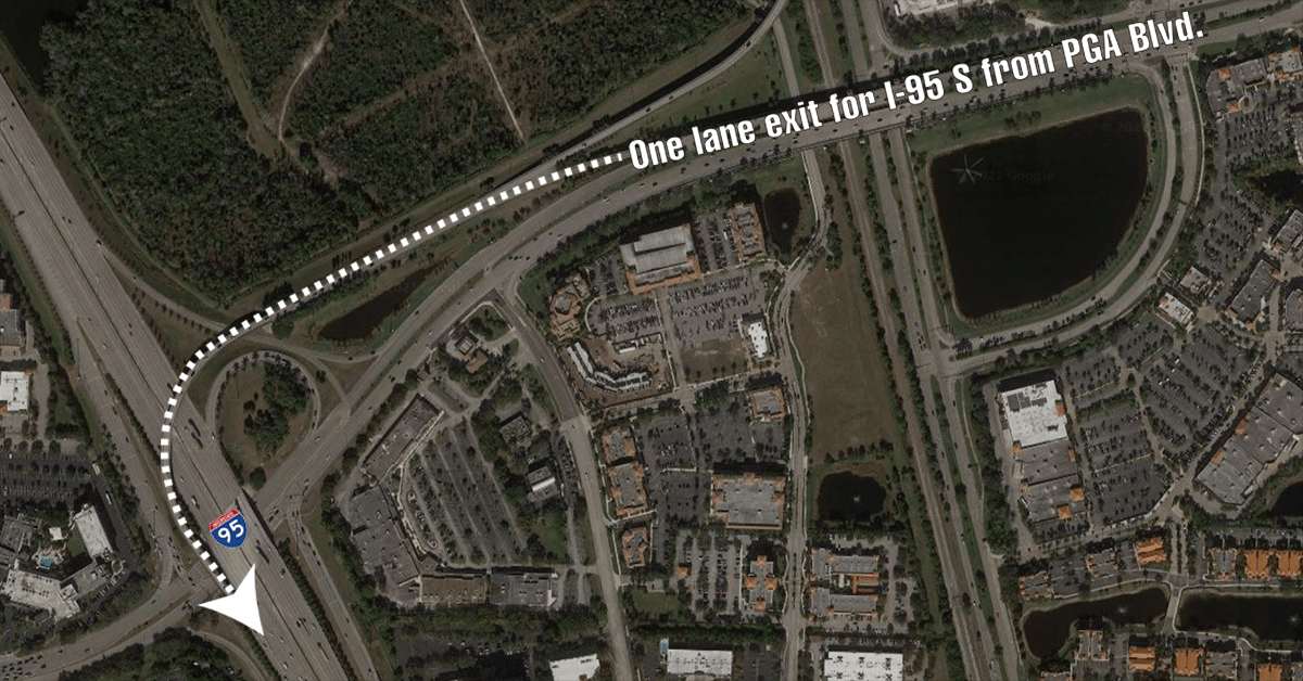 From 3 lanes to 1 lane to I-95 lanes: FDOT aims to uncork PGA flyover logjam