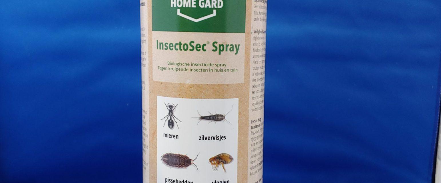 Insectosec spuitbus met Diatomeeënaarde