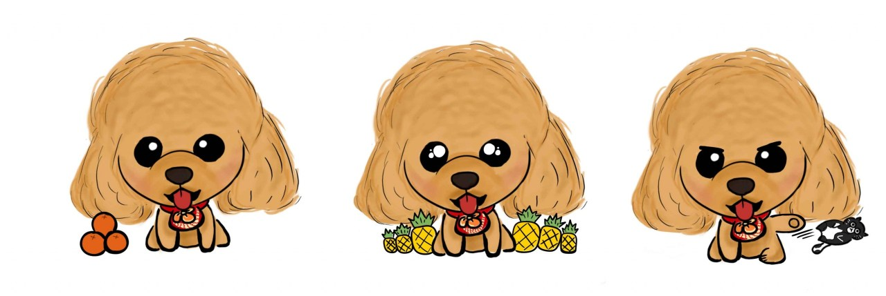 Custom Whatsapp Stickers - CNY 2020 - Furbaby