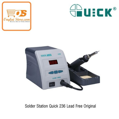 SOLDER STATION QUICK 236 LEAD FREE ORIGINAL