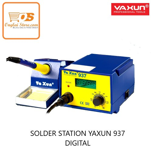 SOLDER STATION YAXUN 937 DIGITAL ORIGINAL