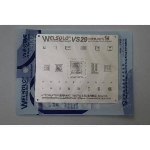 CETAKAN IC WELSOLO VS29 FOR MT6735V/6750V UNIVESAL R9/A37/A59/Y(70154)