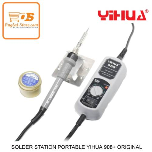 SOLDER STATION YIHUA 908+  60W PORTABLE ORIGINAL