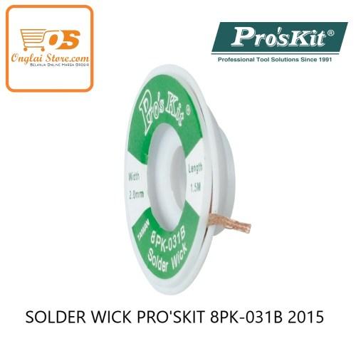 SOLDER WICK PRO'SKIT 8PK-031B 2015 ORIGINAL
