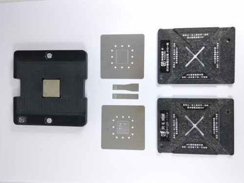 CETAKAN IC BGA AMAOE+ 2MOLD+1MAGNET+2PISAU CPU IPHONE A10 (1SET) ORIGINAL