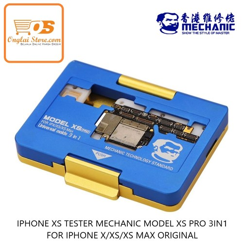 IPHONE XS TESTER MECHANIC MODEL XS PRO 3IN1 FOR IPHONE X/XS/XS MAX ORIGINAL