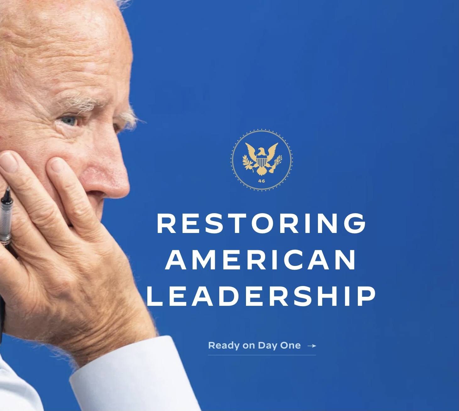 Joe Biden transitoon