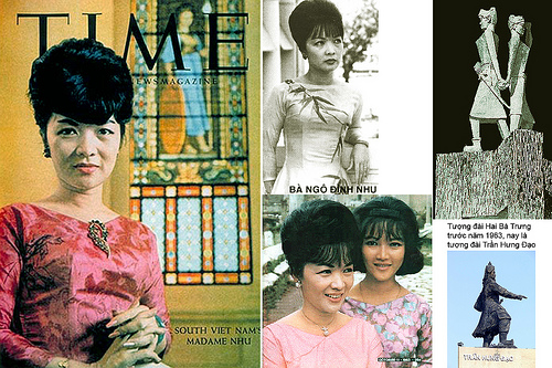 Bà  Ngô Đình Nhu - Trần Lệ Xuân -