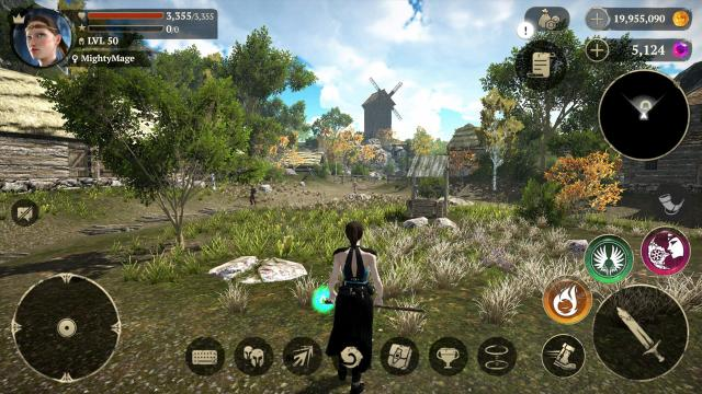 Evil Lands Online Action RPG Apk + Mod + Data Android