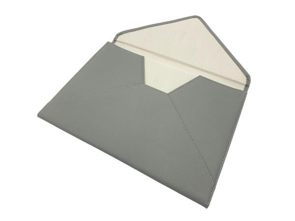 document or laptop wallet grey inside