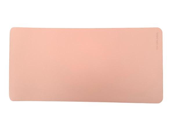 desk mat pink colour