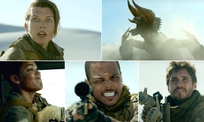 Monster Hunter Teaser: No Tony Jaa, But Milla Jovovich Looks Cool Shooting Guns At Beastly Creatures (Watch Video)
