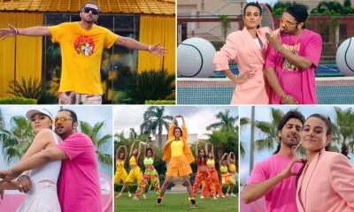 First Kiss Song: Yo Yo Honey Singh And Ipsitaa's Latest Single Is Peppy, Funky And Has A Cool '90s Vibe! (Watch Video)