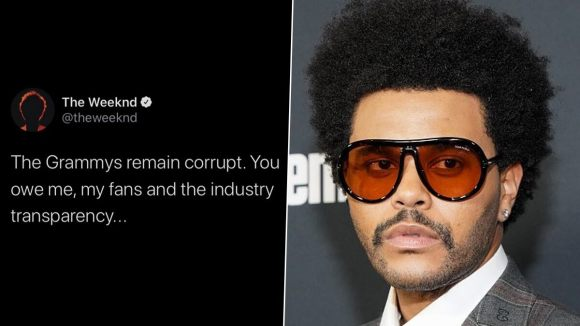 GRAMMYs 2021 Nominations: The Weeknd Slams Recording Academy After His Snub,  Says 'The Grammys Remain Corrupt' - Onhike - Latest News Bulletins