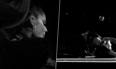 Ariana Grande Teases Fans with Netflix's New Project on Twitter; Singer Shares Black-and-White Photos and Tags the Streaming Giant