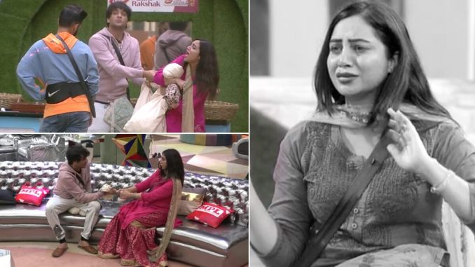 Bigg Boss 14 Preview: Arshi Khan Sobs After Locking Horns With Vikas Gupta, Blames Aly Goni and Rahul Vaidya for Making Her the Villain (Watch Video)