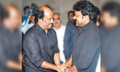Chiranjeevi Wishes Dearest Friend Rajinikanth All The Success In His Political Journey On His 70th Birthday!