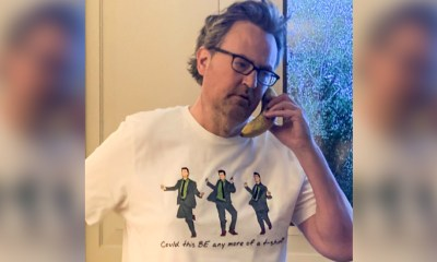 Friends Star Matthew Perry Releases New Chandler Bing Limited Edition T-Shirt for COVID-19 Charity (View Post)