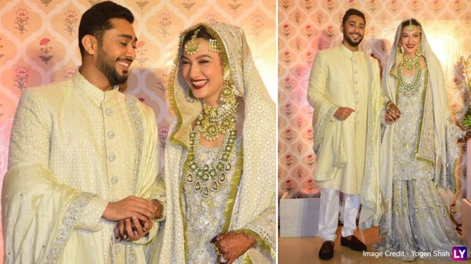 Gauahar Khan and Zaid Darbar Look Like A Match Made In Heaven In Heaven In Their Wedding Pictures