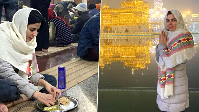 Kirti Kulhari Visits the Holy Golden Temple to Seek Blessings, Says 'Wishing All of You a Beautiful 2021'