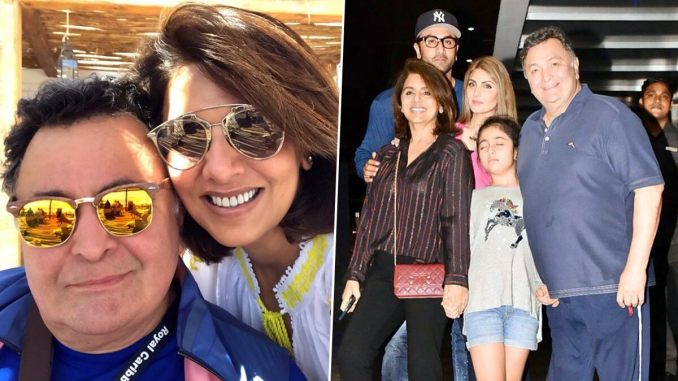 Riddhima Kapoor Misses Late Father Rishi Kapoor on New Year's Eve, Says 'Wish You Were Here'