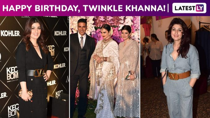 Twinkle Khanna Birthday Special: Silently Proving Her Profundity With a Classy Style, Polite Smile and Unabashed Sass!