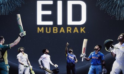 ICC Puts Up An Amazing Post Featuring Virat Kohli, Babar Azam & Others for Wishing Fans on Eid