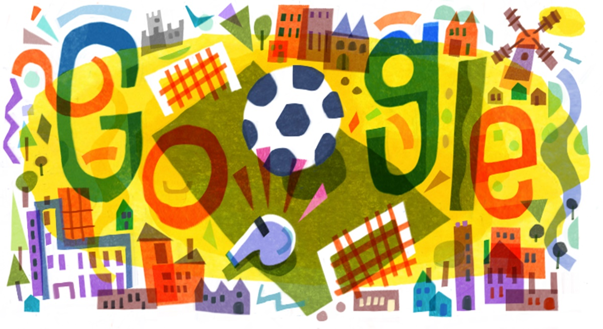 UEFA Euro 2020: Google Doodle Marks the Kick Start of European Championship, Wishes Good Luck to Teams Participating in the Tournament