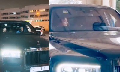 Urvashi Rautela Shares Her Video Chilling in a Rolls-Royce to Celebrate 38 Million Instagram Followers