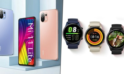 Xiaomi Mi 11 Lite Launched in India at Rs 21,999; Mi Watch Revolve Active Priced at Rs 9,999