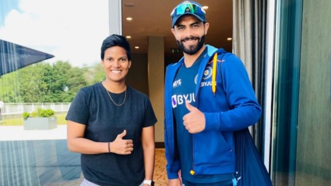 Deepti Sharma, Indian Women's Team All-Rounder, Shares Picture With her 'Inspiration' Ravindra Jadeja