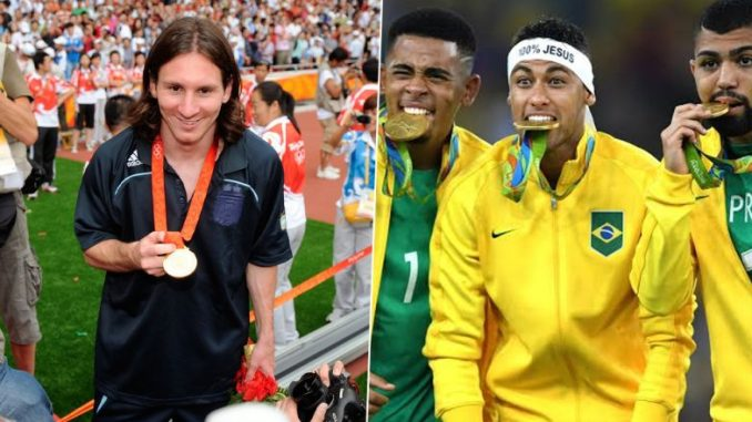 Lionel Messi, Neymar Jr, Sergio Aguero and Other Major Footballers With Olympic Gold