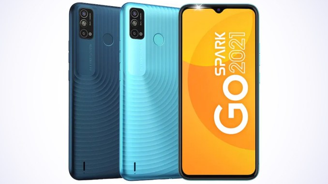 Tecno Spark Go 2021 With 5,000mAh Battery Launched in India at Rs 7,299