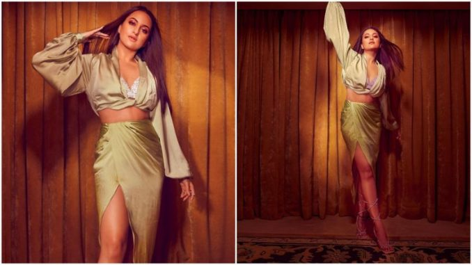 Sonakshi Sinha Just Soared Temperature With Her Sultry Outfit (View Pics)