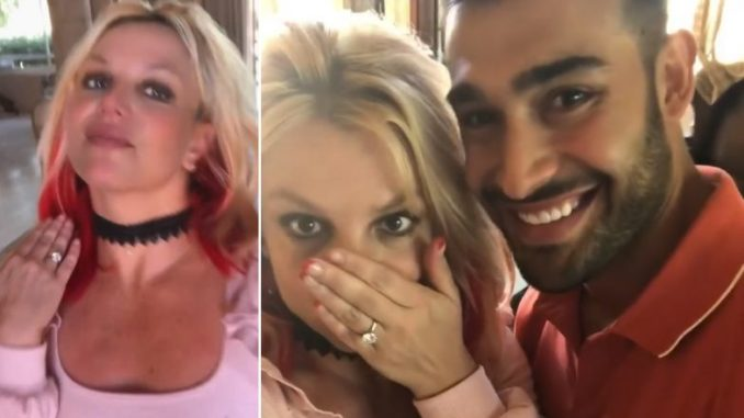 Britney Spears Announces Engagement With Beau Sam Asghari in Recent Instagram Post