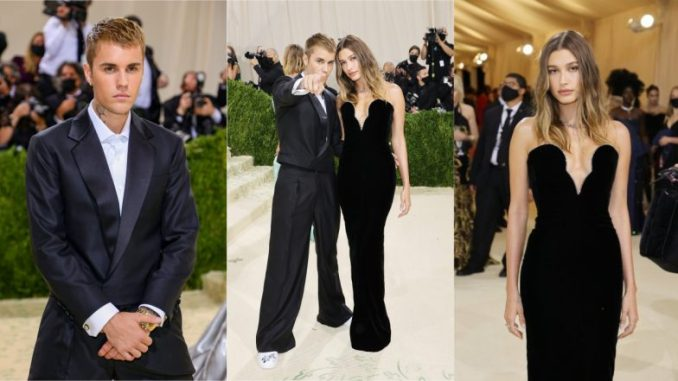 Justin Bieber, Wife Hailey Baldwin Twin in Black at Met Gala 2021 Red Carpet (View Stylish Couple's Pics & Video)