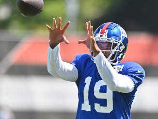 Kenny Golladay 'excited' for new start with Giants, but cautions fans about being high on offense early