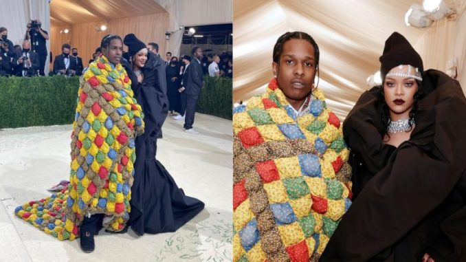 Lovebirds Rihanna, A$AP Rocky Take Met Gala 2021 Red Carpet by Storm With Contrasting Style Statements (View Pics)