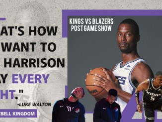 Kings vs Trail Blazers Post Game Show – Oct. 20, 2021
