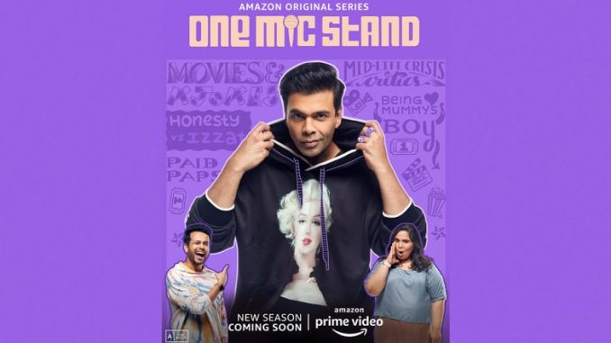 One Mic Stand: Karan Johar Roped In The Second Season Of Amazon Prime Video's Show!