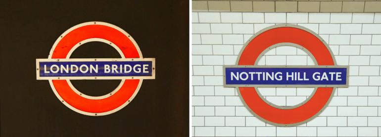 Metro de Londres et ses stations
