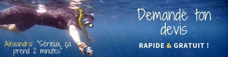 Snorkeling aux maldives devis