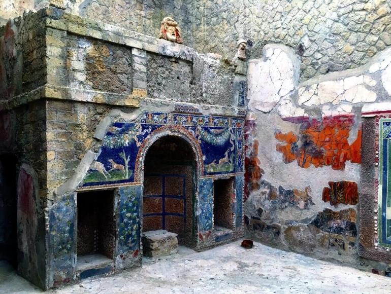 Sauna privé d'une maison à Pompéi